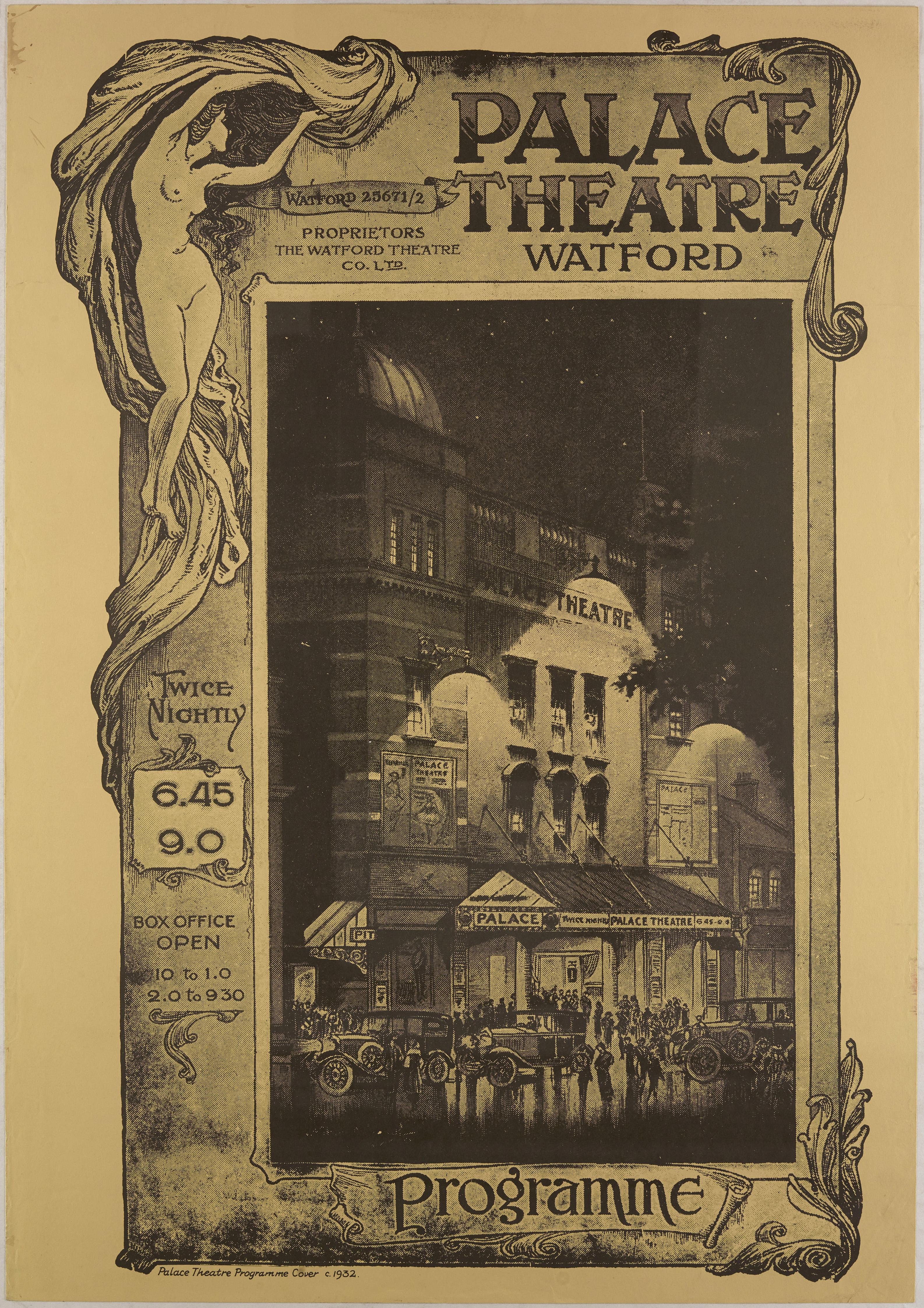 1930s Programme